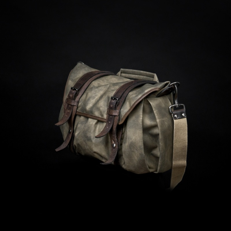 [WOTANCRAFT] TROOPER INTERIOR MODULE SHOULDER BAG - Ash green - M