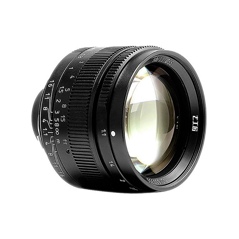 7Artisans M50mm f/1.1 Full Frame Lens Black