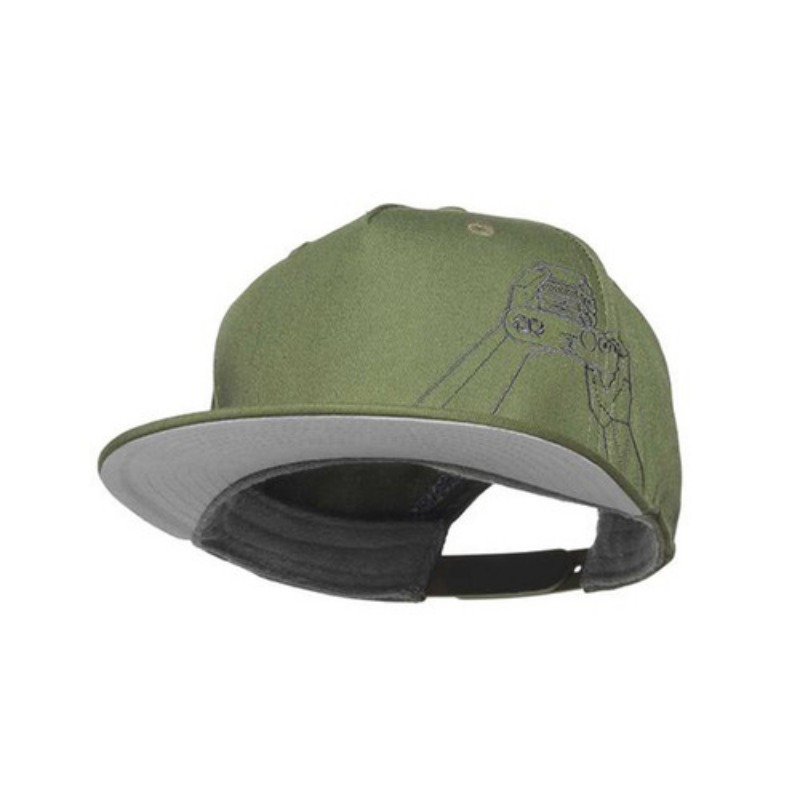 [COOPH] Gray chart cap HANDS ON Olive
