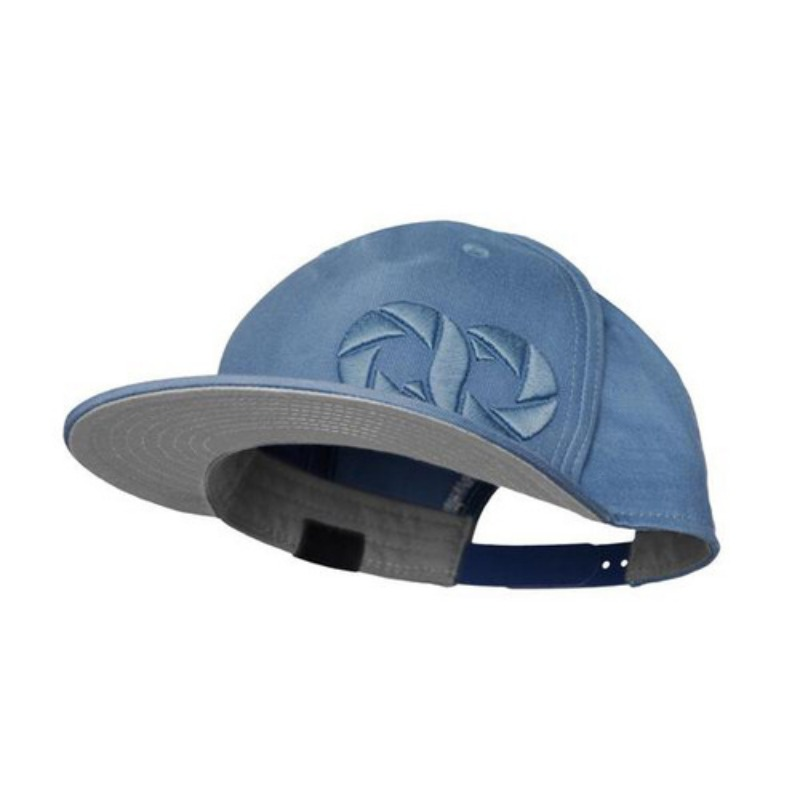 [COOPH] Gray chart cap ICON Sky blue