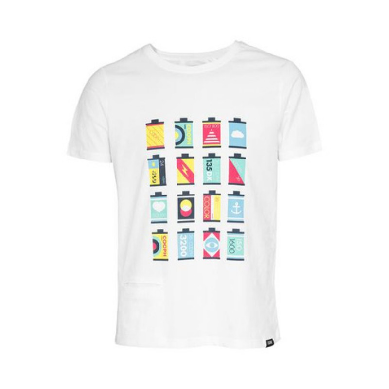 [COOPH] T-Shirt CANISTERS Off white (L) [진열품 40%할인]