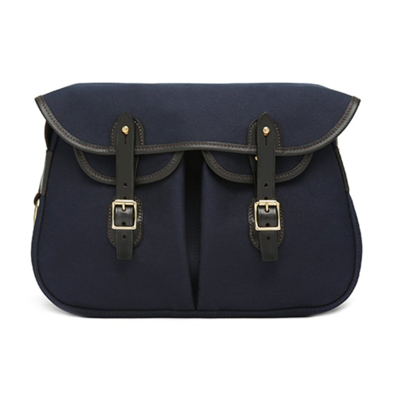 [Brady] Ariel Trout Canvas Large Bag Navy