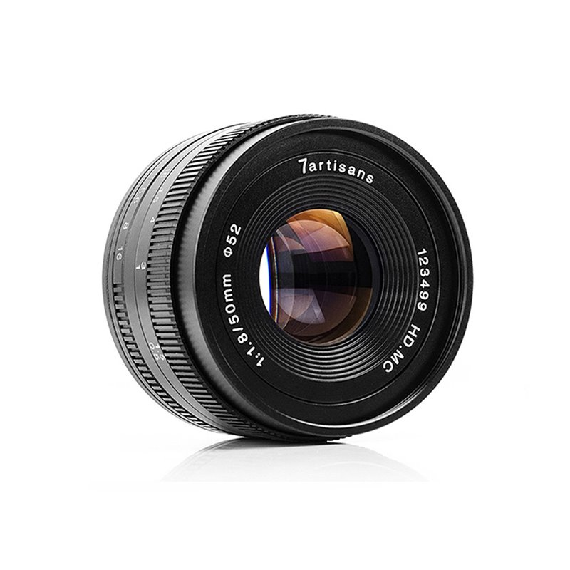 7Artisans 50mm f/1.8 APS-C Manual Fixed Lens [예약판매]