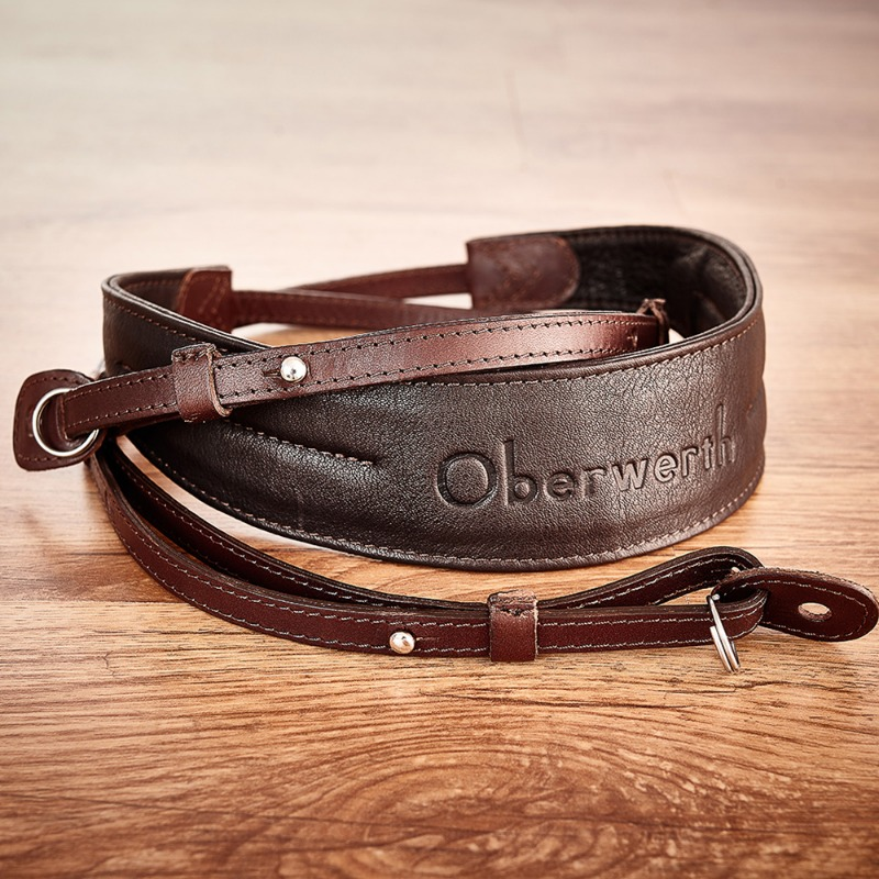 [Oberwerth] Rhein - Dark Brown / Dark Brown Camera Strap