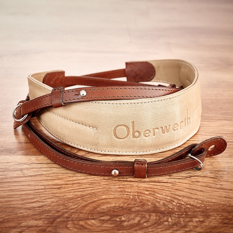 [Oberwerth] Rhein - Light brown / Beige Camera Strap