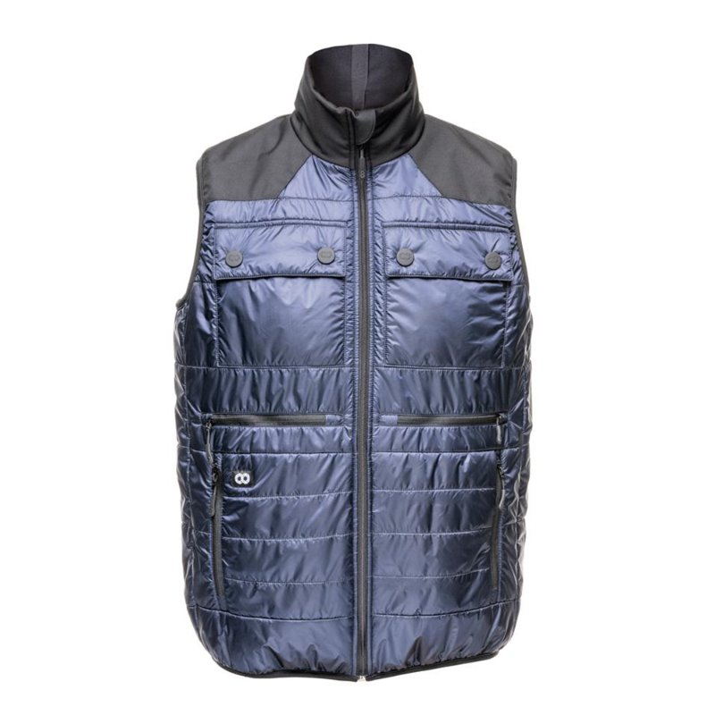 [COOPH] Heatable Photo Vest Navy