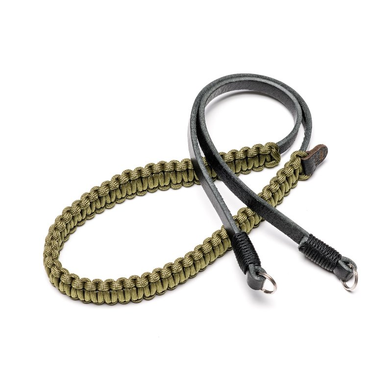 [COOPH] Leica Paracord Strap Olive x Black